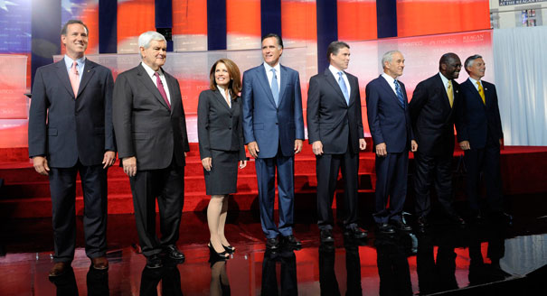 meet the presidential candidates 2012 list
