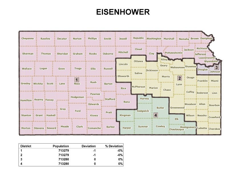 Kansas Redistricting Pounds Of Headlines Page - Colorado us house district map